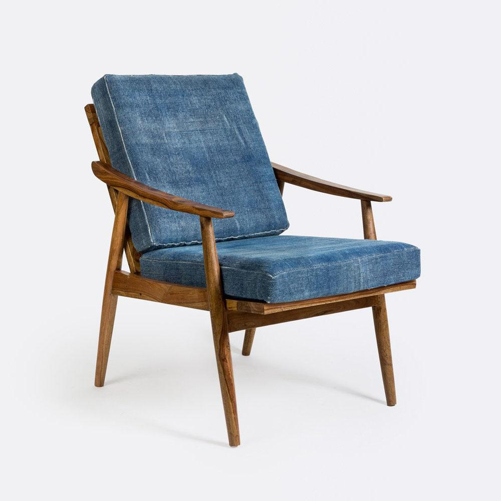 Theo Armchair Dhurrie,N Square, Chairs